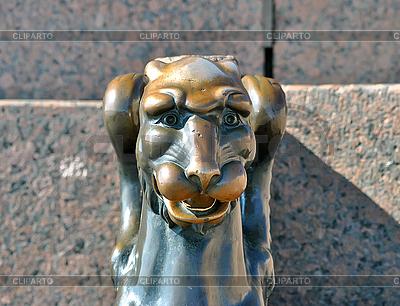 Griffin w nasyp Schmidt porucznika. Petersburg | Foto stockowe wysokiej rozdzielczości |ID 3031809