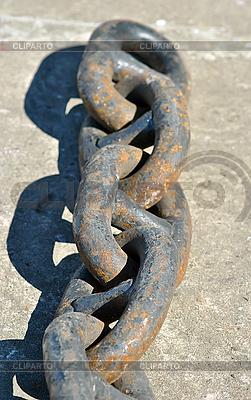Rusty łańcucha | Foto stockowe wysokiej rozdzielczości |ID 3031811