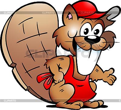 Goście Beaver służąc | Klipart wektorowy |ID 3031695