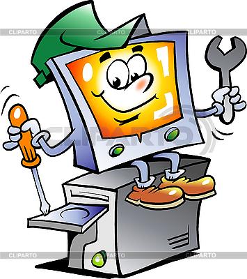 Computer-Reparateur | Stock Vektorgrafik |ID 3031705