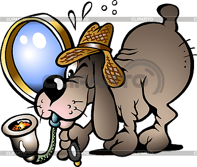 Pies Inspector | Klipart wektorowy |ID 3031715