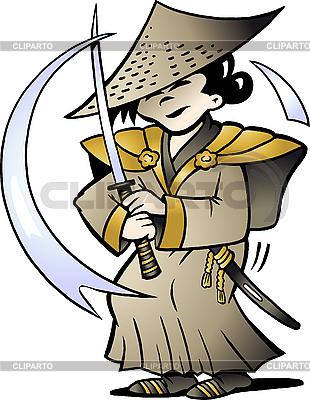 日本武士 | 向量插图 |ID 3031767