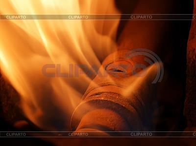 Gaz ziemny jest palenie | Foto stockowe wysokiej rozdzielczości |ID 3063192