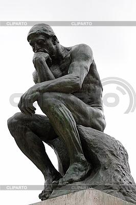 Denker von Rodin | Foto mit hoher Auflösung |ID 3038546