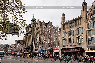 Damrak Straße, Amsterdam, die Niederlande | Foto mit hoher Auflösung |ID 3038647