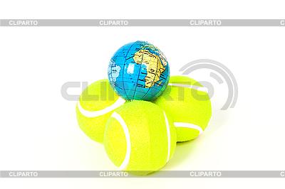 网球和全球 | 高分辨率照片 |ID 3095539