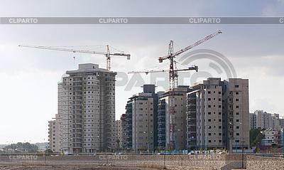 Budowa budynków mieszkalnych | Foto stockowe wysokiej rozdzielczości |ID 3130674