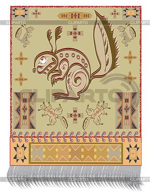 American Indian Eichhörnchen | Stock Vektorgrafik |ID 3267264