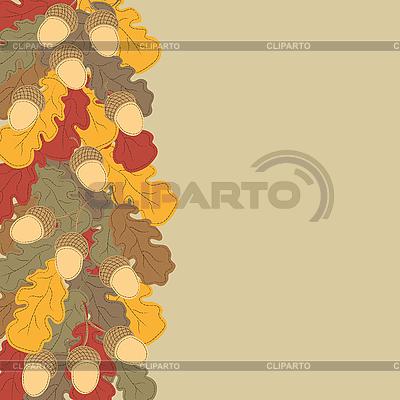 Jesień w tle | Klipart wektorowy |ID 3039284