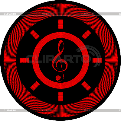 海洋和音乐标志 | 向量插图 |ID 3041706