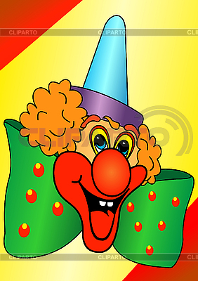 滑稽小丑 | 向量插图 |ID 3046597