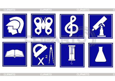 Set von Icons | Stock Vektorgrafik |ID 3046609