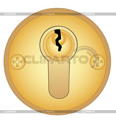 Złoto dziurka | Klipart wektorowy |ID 3059733