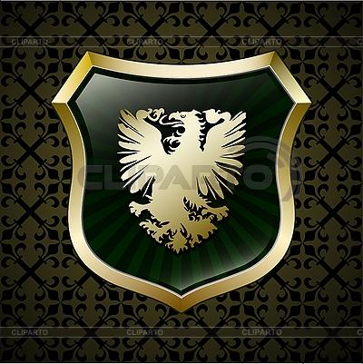 герб орел вектор