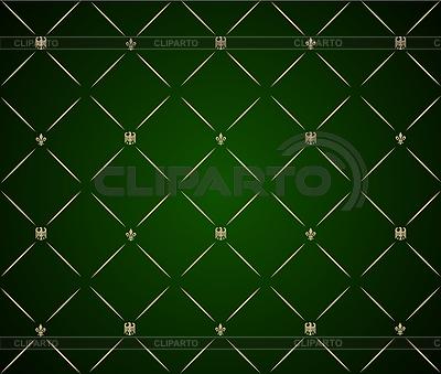 Grünes dekoratives Pattern | Stock Vektorgrafik |ID 3041049