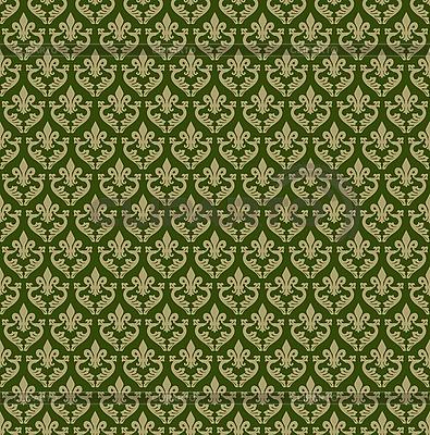 Nahtloser grüner ornamentaler Hintergrund | Stock Vektorgrafik |ID 3045979