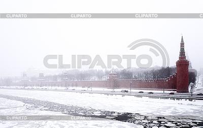 Moskauer Kreml im Winter | Foto mit hoher Auflösung |ID 3039815