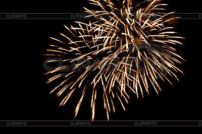 Smugi fajerwerków na nocnym niebie | Foto stockowe wysokiej rozdzielczości |ID 3040475