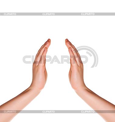 Leere Hände | Foto mit hoher Auflösung |ID 3058154