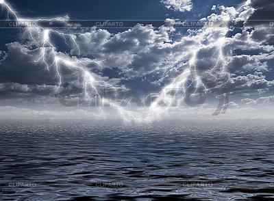 Blitz im Storm | Foto mit hoher Auflösung |ID 3058197