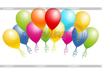 Kolorowe balony | Klipart wektorowy |ID 3050485