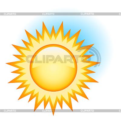 Żółte słońce | Klipart wektorowy |ID 3051148