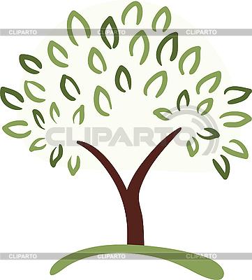 Baum-Symbol | Stock Vektorgrafik |ID 3051177