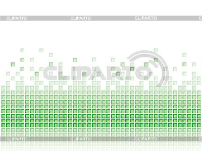 Abstrakter grüner Mosaik-Hintergrund | Stock Vektorgrafik |ID 3072585