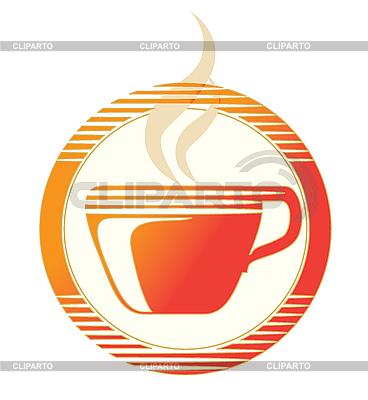 Heiße Tasse als Icon | Stock Vektorgrafik |ID 3072908