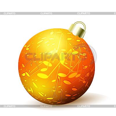 Weihnachtskugel isoliert | Illustration mit hoher Auflösung |ID 3045554