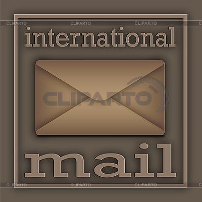 Internationale Post | Illustration mit hoher Auflösung |ID 3045647