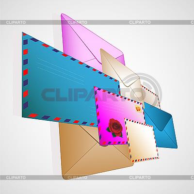 Post-Umschläge | Stock Vektorgrafik |ID 3047590