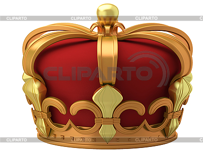 Złota korona | Stockowa ilustracja wysokiej rozdzielczości |ID 3063043
