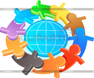 Symbol przyjaźni i solidarności | Klipart wektorowy |ID 3093059