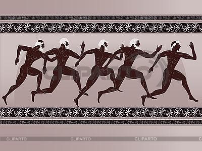 Starożytne greckie liczby | Klipart wektorowy |ID 3093068