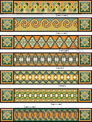 Ozdoby w stylu celtyckim | Klipart wektorowy |ID 3093077