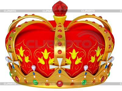 Königliche goldene Krone | Illustration mit hoher Auflösung |ID 3345995
