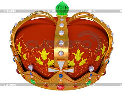 Königlichen goldenen Krone | Illustration mit hoher Auflösung |ID 3346263