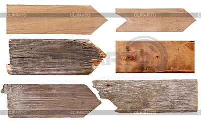 Holzschilde | Foto mit hoher Auflösung |ID 3039907