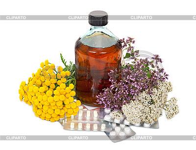 Pflanzliche Arzneimittel | Foto mit hoher Auflösung |ID 3040175