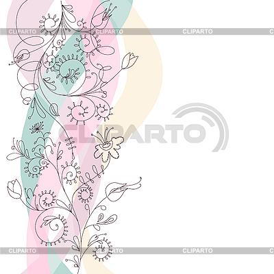 Blumenornament | Stock Vektorgrafik |ID 3051864