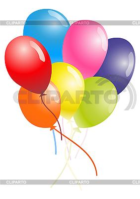 Powietrze balony kolorów | Klipart wektorowy |ID 3058237