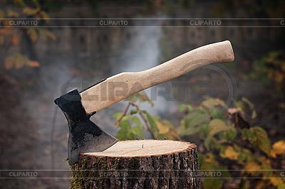 Topór | Foto stockowe wysokiej rozdzielczości |ID 3080387