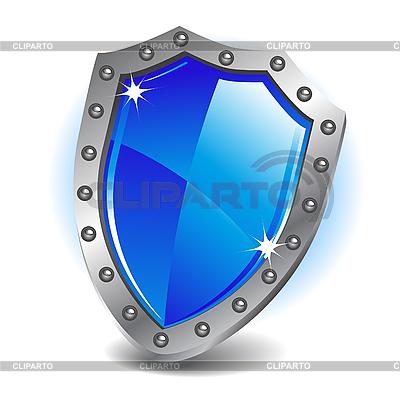 Blauer Schild | Stock Vektorgrafik |ID 3045235