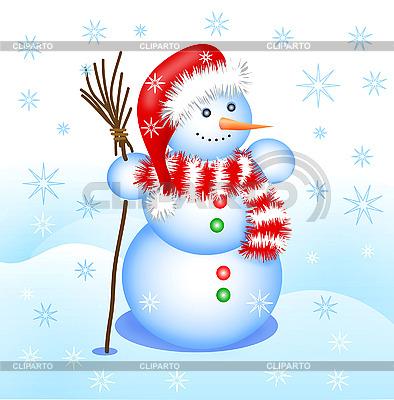 Snowman | Klipart wektorowy |ID 3046062