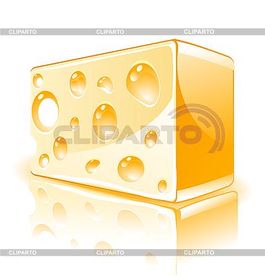 Kawałek sera | Klipart wektorowy |ID 3046357