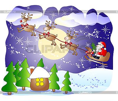 圣诞贺卡 | 向量插图 |ID 3053184
