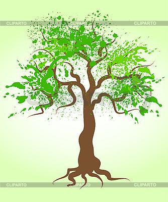 Дерево векторный клипарт id 3053265