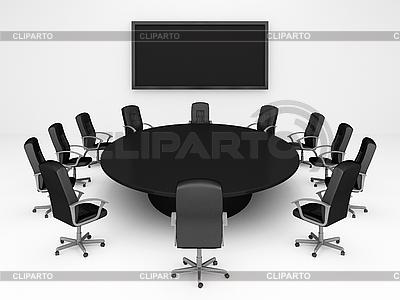 Runder Tisch | Illustration mit hoher Auflösung |ID 3040223