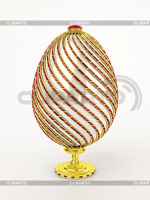 Jajko Faberge | Stockowa ilustracja wysokiej rozdzielczości |ID 3061898
